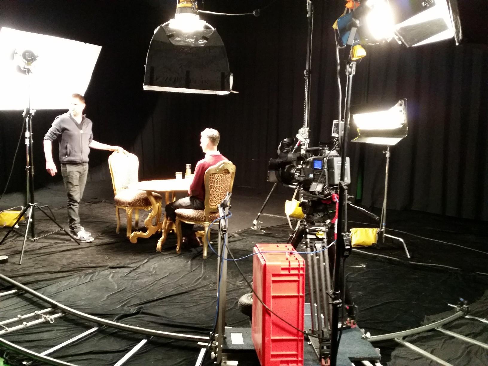 horror scene in de studio. We love special effects