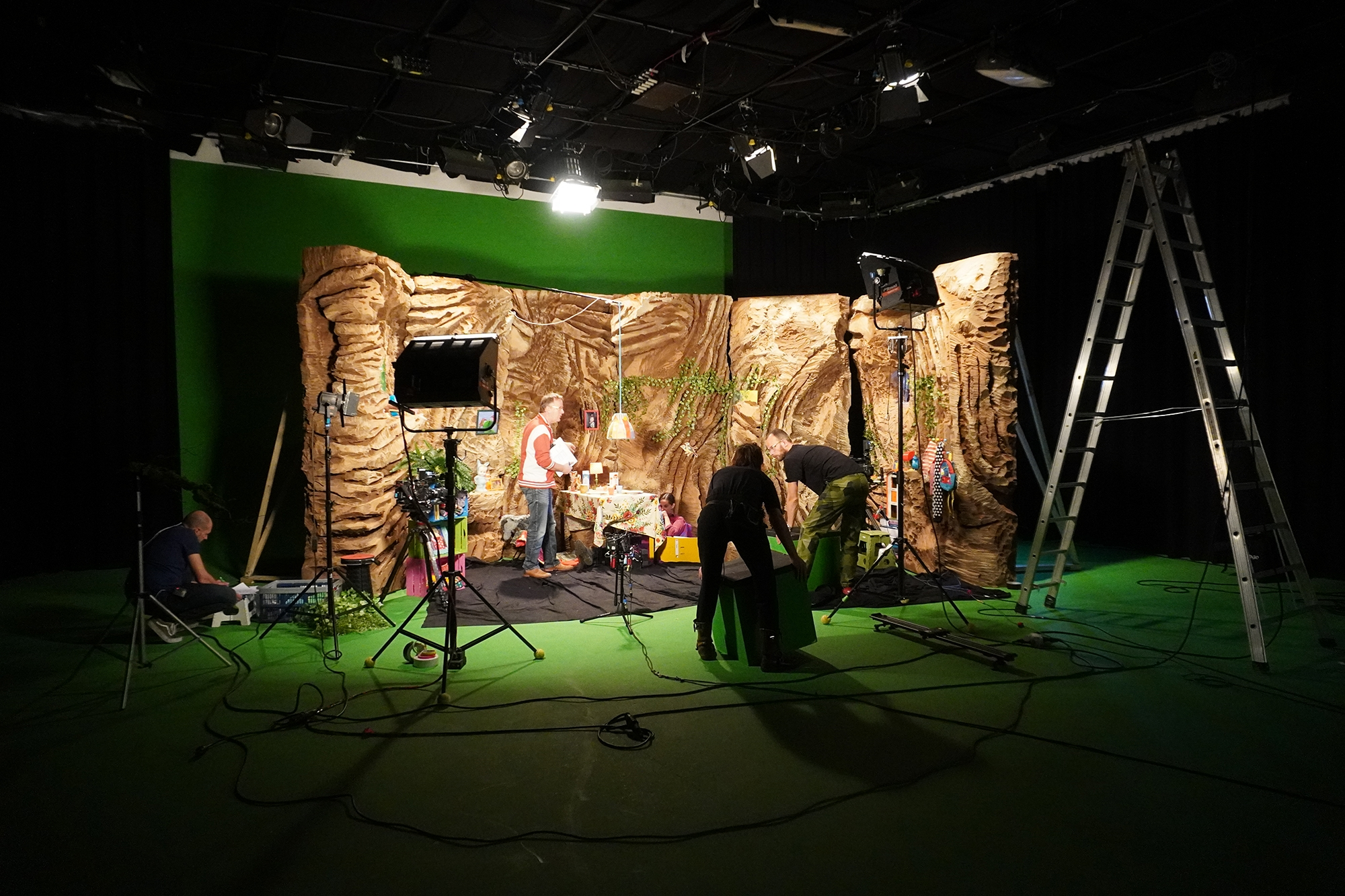 Greenscreen Scene Opnemen