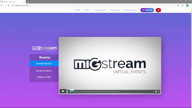migstream microsites